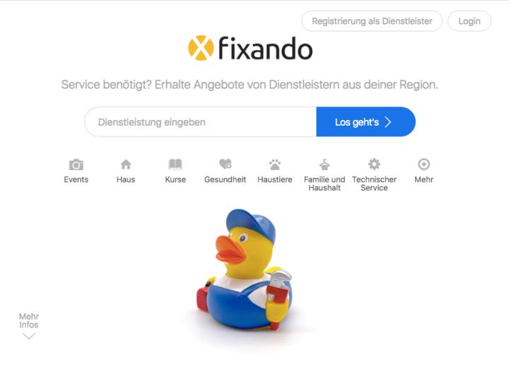 Das neue Design vonFixando
